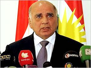 Irak Dışişleri Bakanı Fuad Hüseyin, Türkiye'ye geliyor