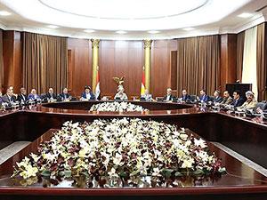 Barzani, siyasi parti temsilcileri ile toplantı yaptı