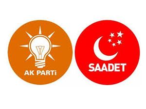 AK Parti ile Saadet ittifak için anlaşamadı