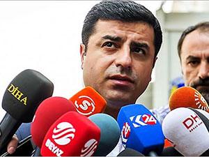 Demirtaş'tan Davutoğlu'nun PYD açıklamasına yanıt
