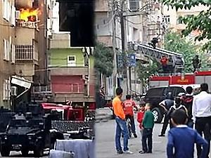 Diyarbakır'da polis baskını, bir kişi hayatını kaybetti
