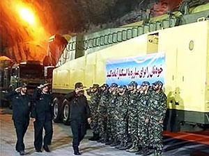 İran, yeraltı üssünü ilk kez gün yüzüne çıkardı
