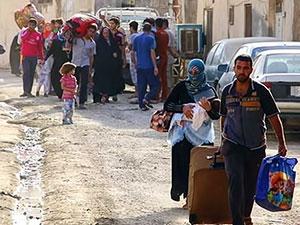 Anbar halkına 'evlerinizi terk edin' çağrısı