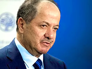 Barzani Suudi Arabistan'a gidiyor