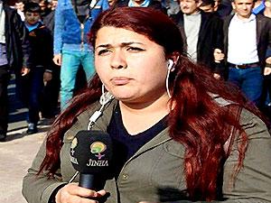 JINHA muhabiri Beritan Canözer gözaltına alındı