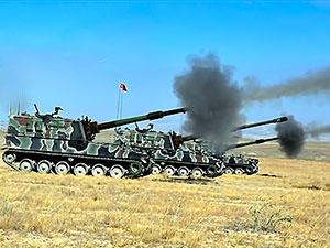 TSK: 6 YPG hedefi vuruldu