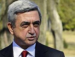 Sarkisyan'dan Türkiye'ye destek