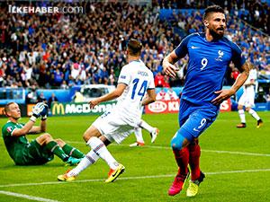 Euro 2016: Son yarı finalist ev sahibi Fransa