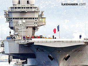 Fransa, Doğu Akdeniz'e amiral gemisini gönderiyor