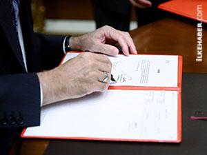 Erdoğan anayasa teklifini onayladı