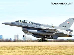 Irak altı F-16 savaş uçağı aldı