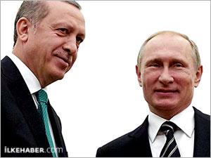 Putin ve Erdoğan'ın gündemi belli oldu