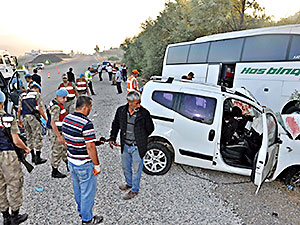 Adıyaman'da trafik kazası: 7 kişi hayatını kaybetti