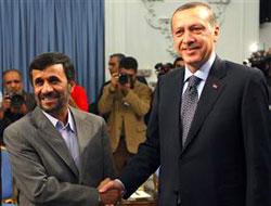 Erdoğan, Ahmedinejad ile görüştü