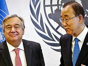 Ban Ki-mun'un yerine Antonio Guterres seçildi