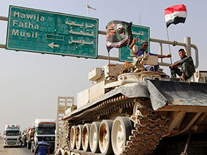 Irak ordusu, Batı Musul operasyonunu başlattı