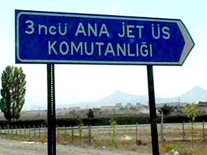 Konya 3'üncü Ana Jet Üssü'ne operasyon