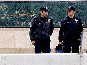 Ankara'daki İran Büyükelçiliği'nin önünde silah sesleri
