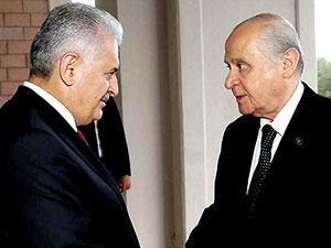 Başbakan Yıldırım, MHP lideri Bahçeli ile görüşecek