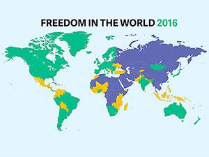 Freedom House: Türkiye'de internet özgür değil