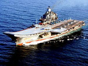 Rusya uçak gemisini Suriye'de ilk kez kullandı