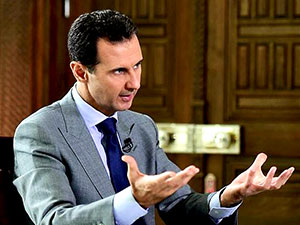 'Esad Kürtlerle masaya oturdu' iddiası