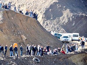 Siirt Şirvan'a 5 işçinin cenazesine ulaşıldı