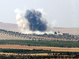 TSK: Suriye'de PYD hedefleri vuruldu