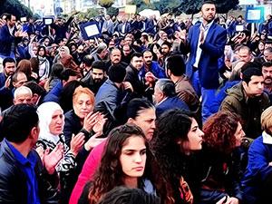 Van'da 10 gün boyunca gösteri ve yürüyüş yasak