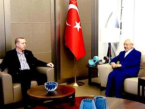 Cumhurbaşkanı Erdoğan Gannuşi'yle görüştü