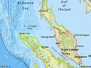 Endonezya'da 6.8 şiddetinde deprem