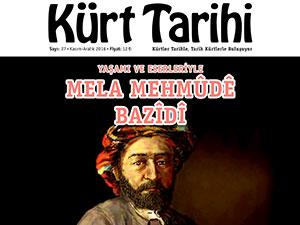 Kürt Tarihi Dergisi'nin 27. sayısı bayilerde