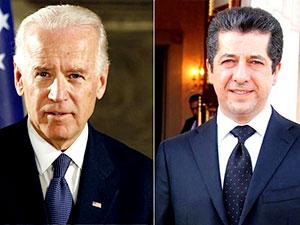 Mesrur Barzani, Joe Biden ile görüştü