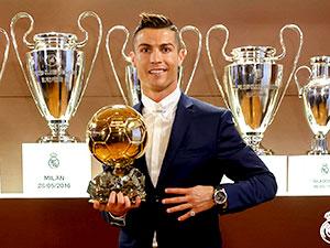'Yılın en iyi erkek futbolcusu' Ronaldo oldu