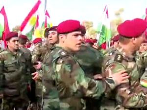 Binlerce Peşmerge Goranlı parlamenteri protesto etti