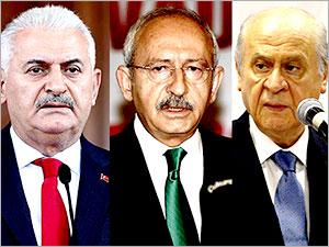 3 liderden Çankaya Köşkü zirvesi sonrası ortak açıklama