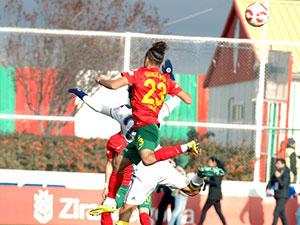 Amedspor ile Fenerbahçe 1-1 berabere kaldı.