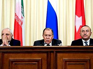 İran, Rusya ve Türkiye'den 8 maddelik ortak açıklama