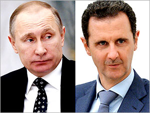 Esad: Putin'e 'minnettarım'