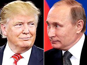 Trump ile Putin ilk kez görüştü