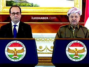Hollande: Peşmerge'ye saygılar sunuyorum