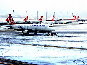 İstanbul'da 463 sefer iptal oldu