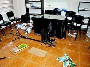 DBP Bismil ilçe binasına polis baskını