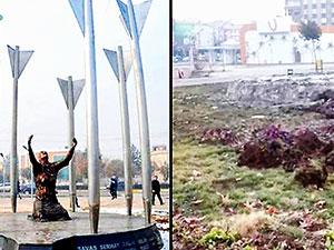 Diyarbakır'daki Roboski Anıtı kaldırıldı