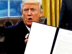 Trump yedi Müslüman ülkeye yasak getiriyor