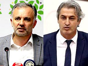 HDP'li Ayhan Bilgen ve Lezgin Botan gözaltına alındı