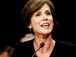 Trump, Adalet Bakanı Vekili Yates'i görevden aldı