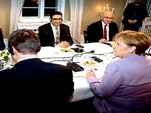 Merkel HDP heyeti ile görüştü