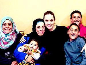 Angelina Jolie: Mülteciler terörist değil, terör mağduru