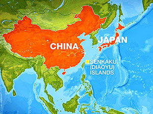 Çin savaş gemileri tartışmalı adaların yakınında seyretti